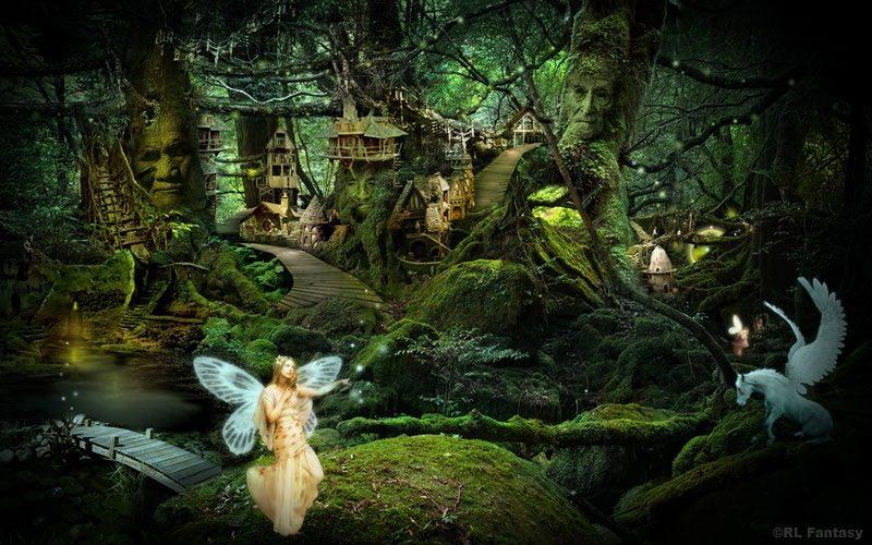 Fantasy Forest av RL Fantasy Design Studio